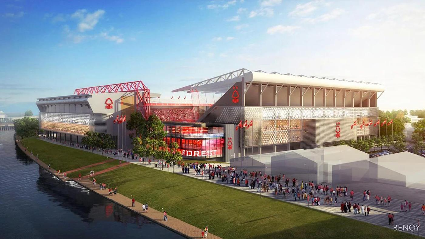 The plans to redevelop the City Ground were first unveiled earlier this year