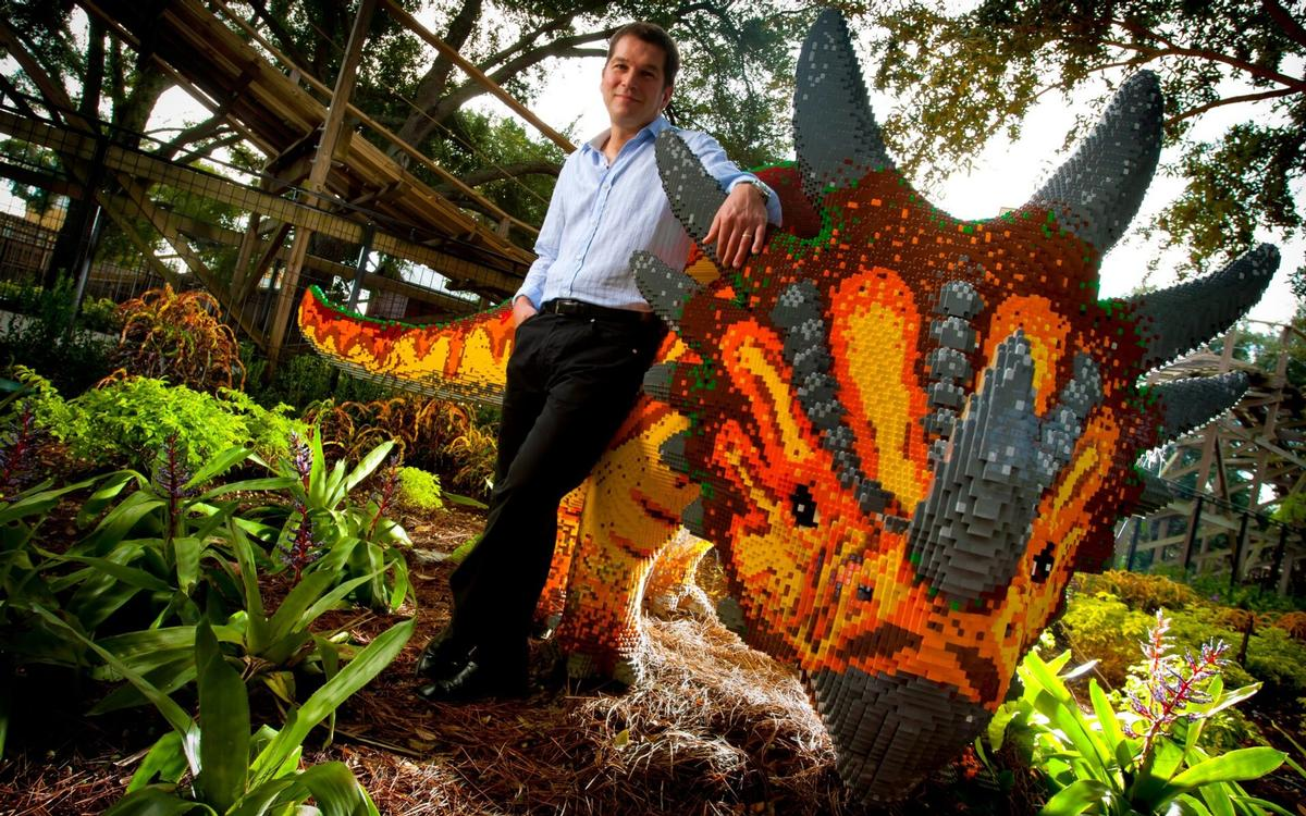 Merlin CEO, Nick Varney, has led Merlin for 20 years, since its creation in 1999 / Merlin Entertainments