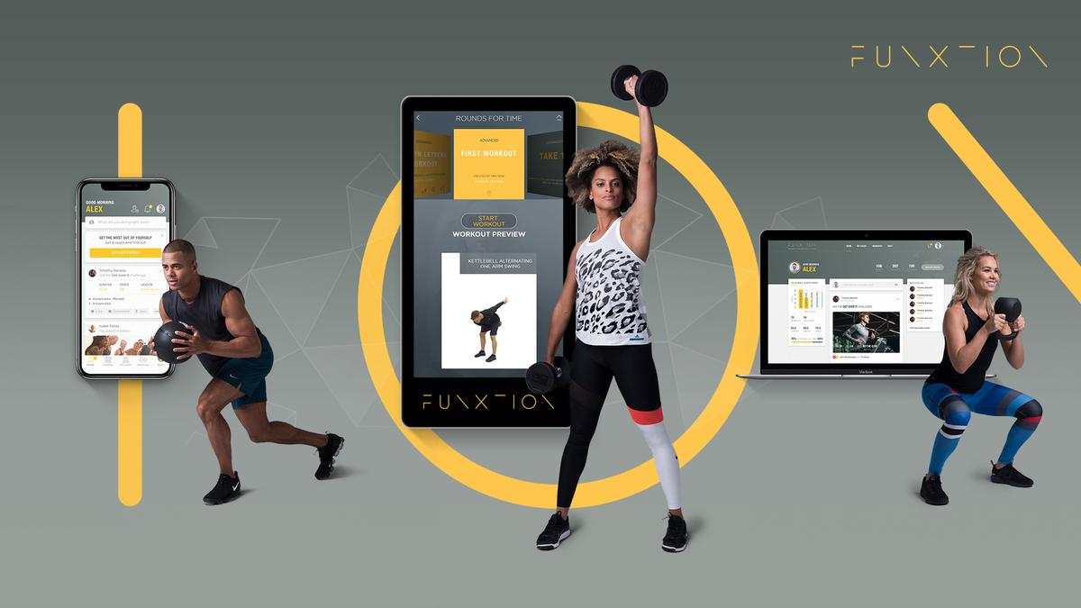FunXtion's cloud-based platform is used in 700 gyms around the world
