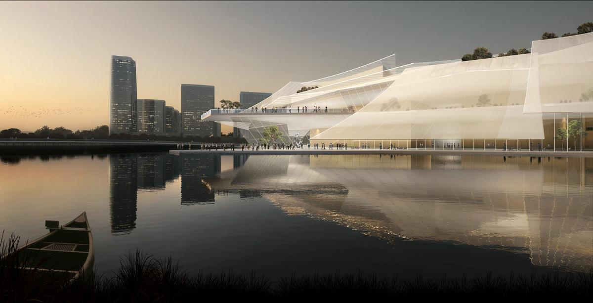 MAD has designed a world class venue / Ma Yansong