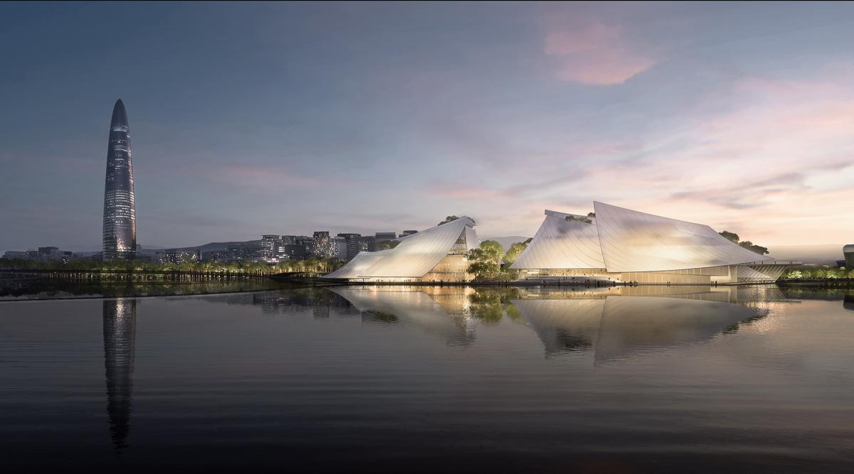 MAD won a competition to design the theatre, beating four other practices / Ma Yansong