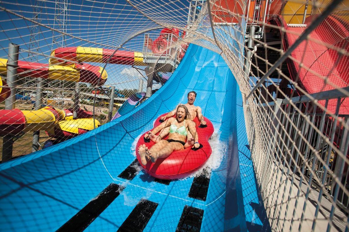 The Wet 'n' Wild waterpark in Sydney opened in 2013