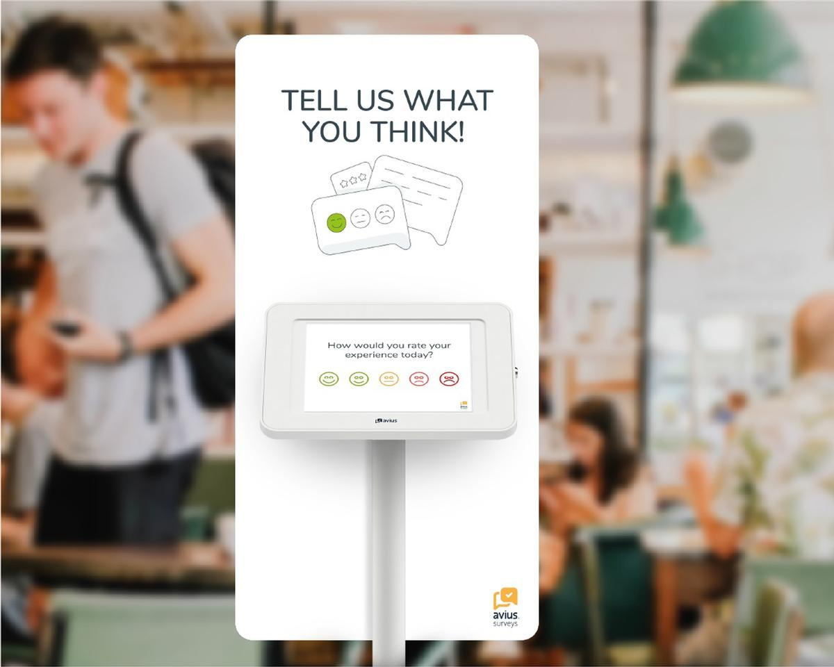 Using the kiosks, visitors will be able to leave satisfaction scores and offer suggestions for future improvements, as well as rate their visit