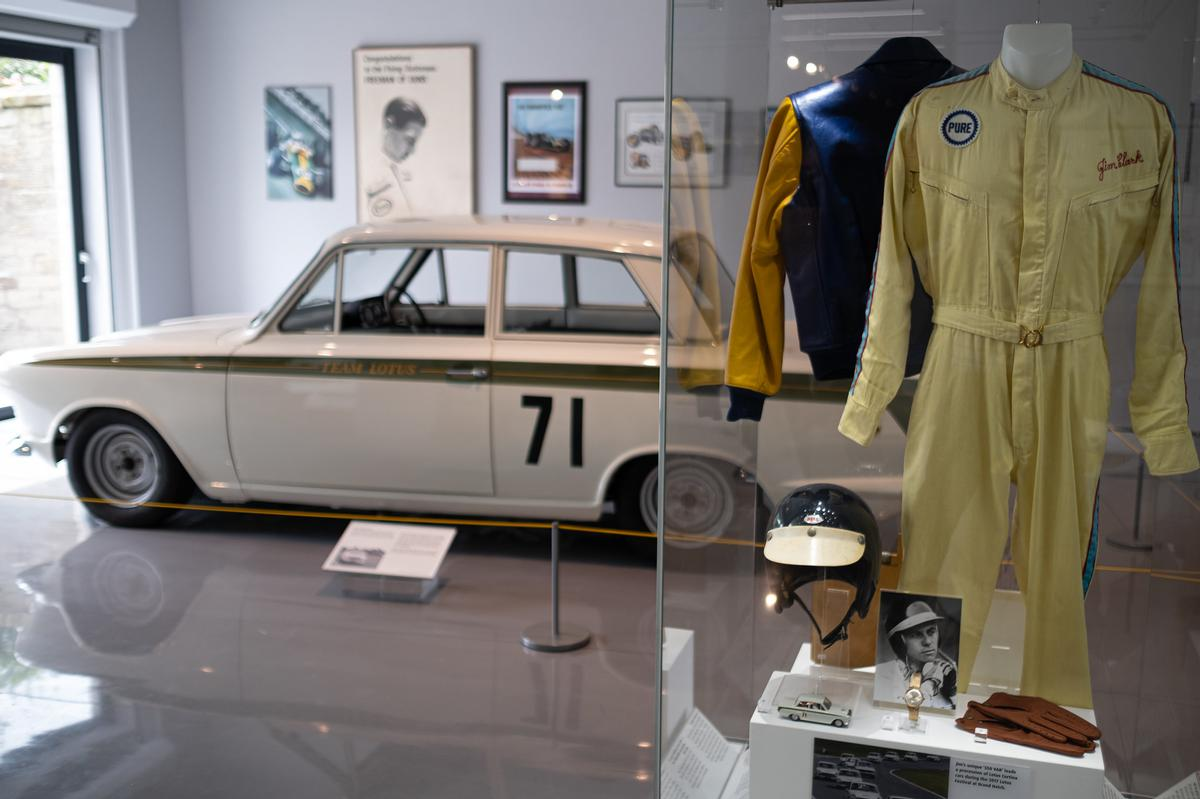 A wealth of items from Clark's career are on display / Tony Marsh/Live Borders