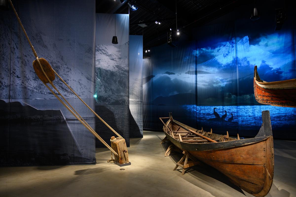 Jekt trade continued for more than 400 years / Ernst Furuhatt, Nordlandsmuseet