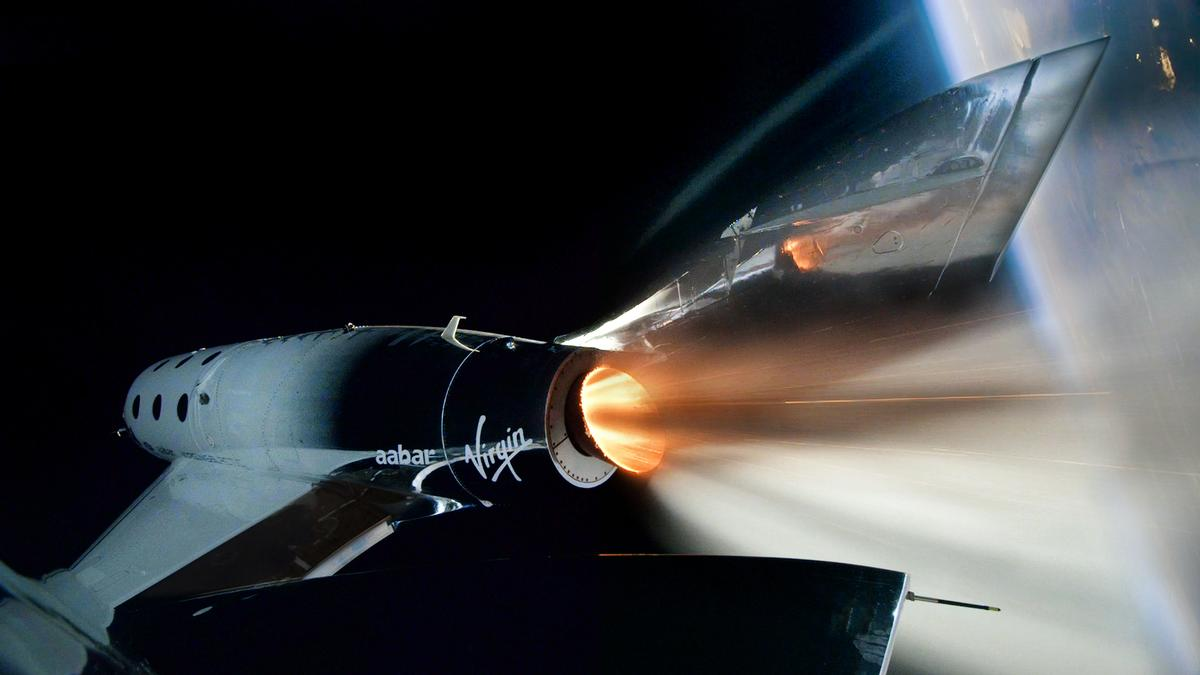 Virgin Galactic's VSS Unity spaceship has twice successfully reached space in testing / Virgin Galactic