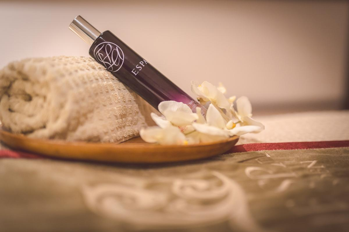 The treatments are designed to soothe stressed minds and nourish the body and will incorporate ESPA products