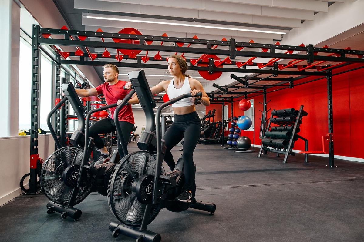 The centre houses two sports halls and three gyms – one of which is open to the public / Pulse Fitness/Southampton Solent