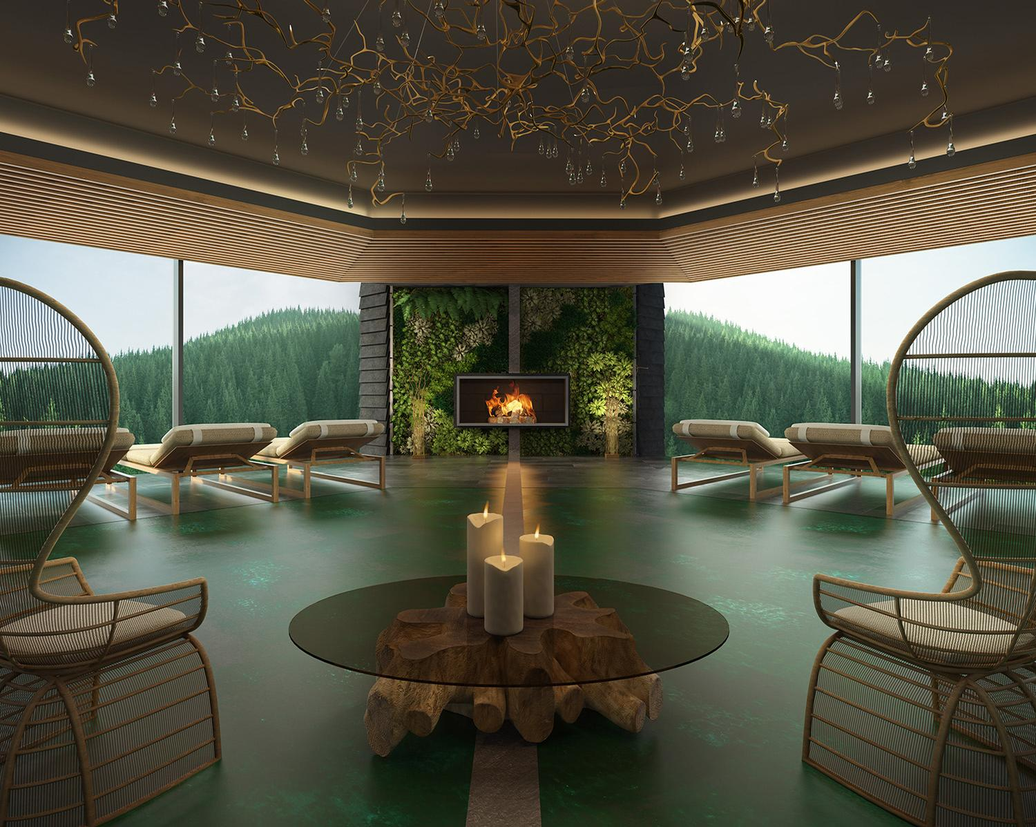 Hugo Demetz and Alberto Apostoli create luxury eco resort, spa and residences for Lefay in the Italian Dolomites
