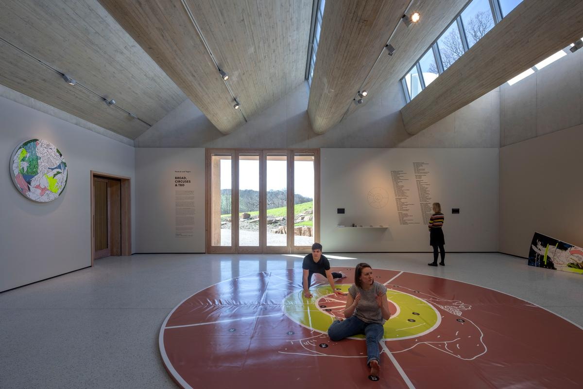 The Weston: Inside the building, Feilden Fowles has kept finishes simple to create a domestic feel and scale / Peter Cook