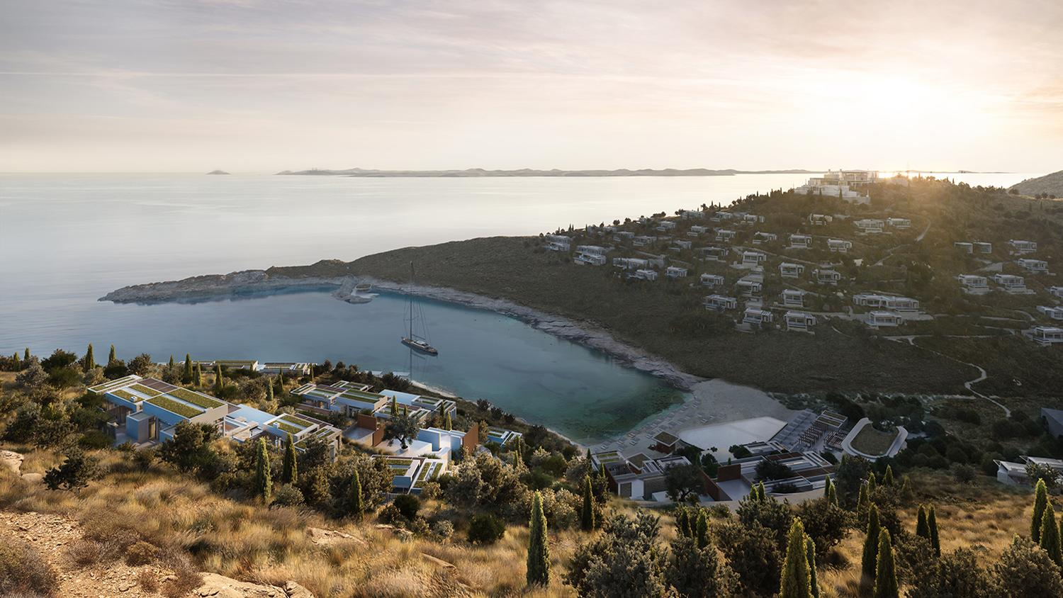 One&Only Kéa Island will be the second One&Only resort in Europe following the opening of One&Only Portonovi in Montenegro in 2020
