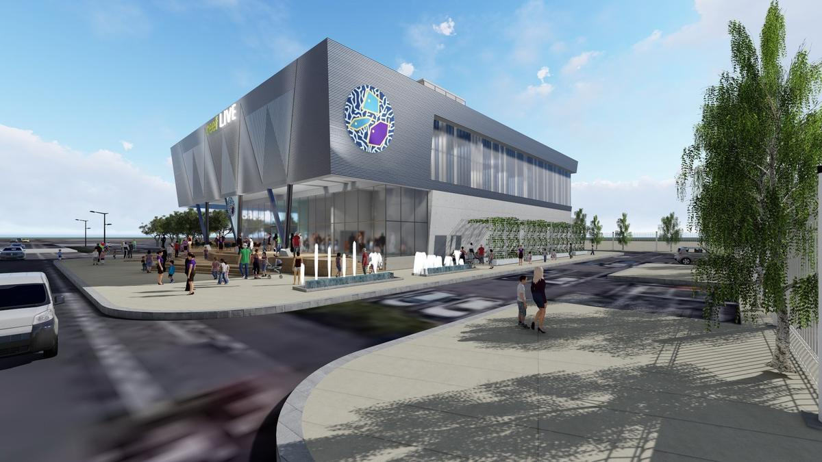 Designed by Ethos, the aquarium could open in spring 2021