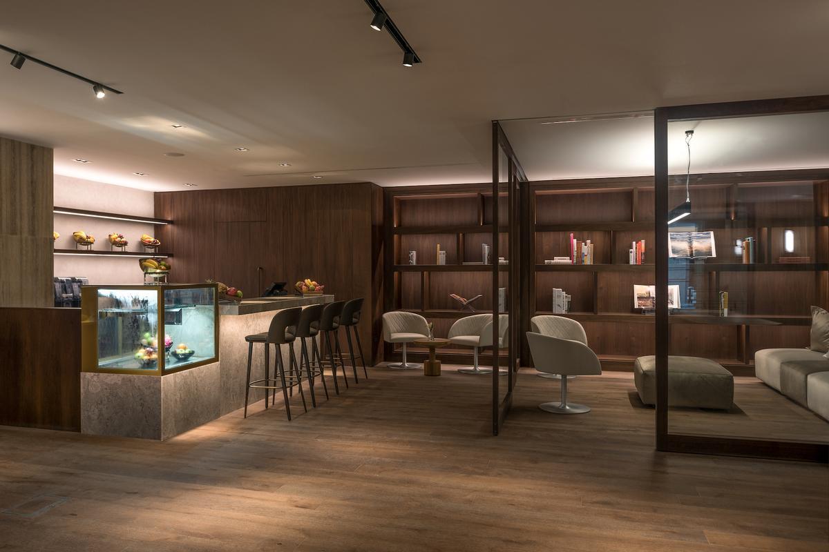 Spa services also include a laconium, caldarium, tepidarium and a frigidarium, all inspired by ancient Roman baths