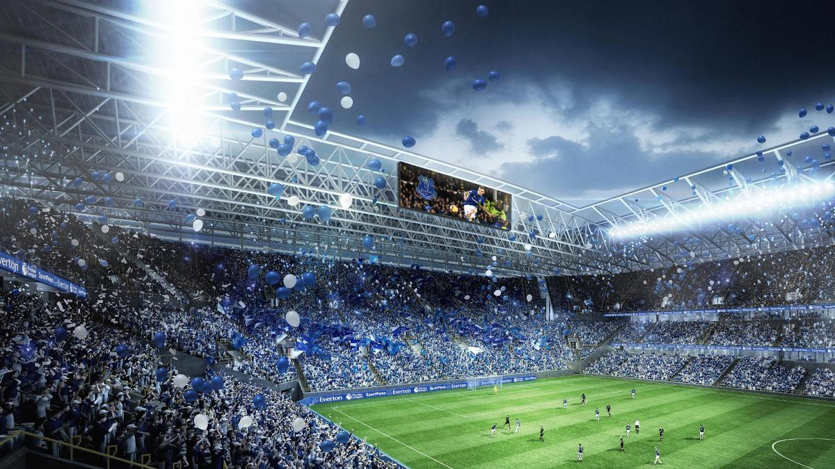The stadium is made up of four distinctive stands including a large steep home to the south that will house 13,000 home fans on matchdays