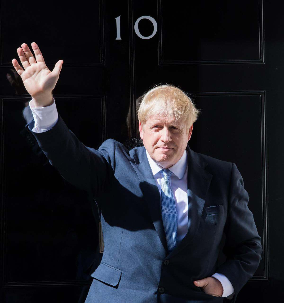 Johnson became Prime Minister on 24 July