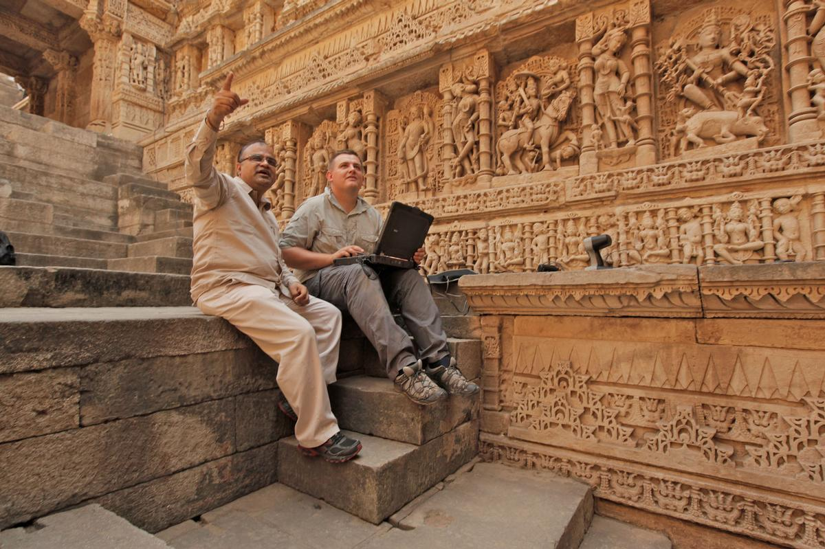 UNESCO World Heritage Site Rani ki Vav in India / The Centre for Digital Documentation and Visualisation LLP (a partnership between Historic Environment Scotland and The Glasgow School of Art)