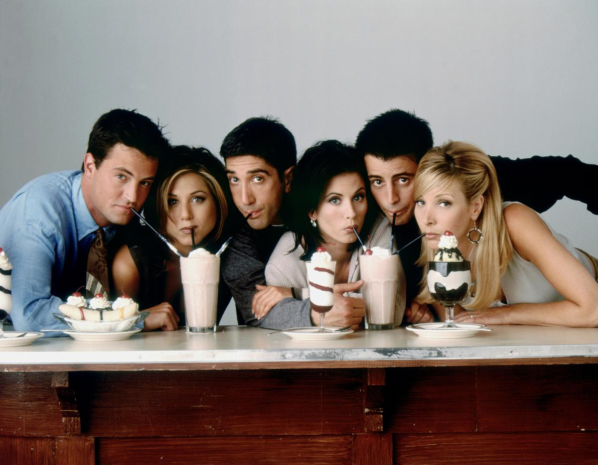 Chandler, Rachel, Ross, Monica, Joey and Phoebe first hit the world's TV screens in 1994 / JRA