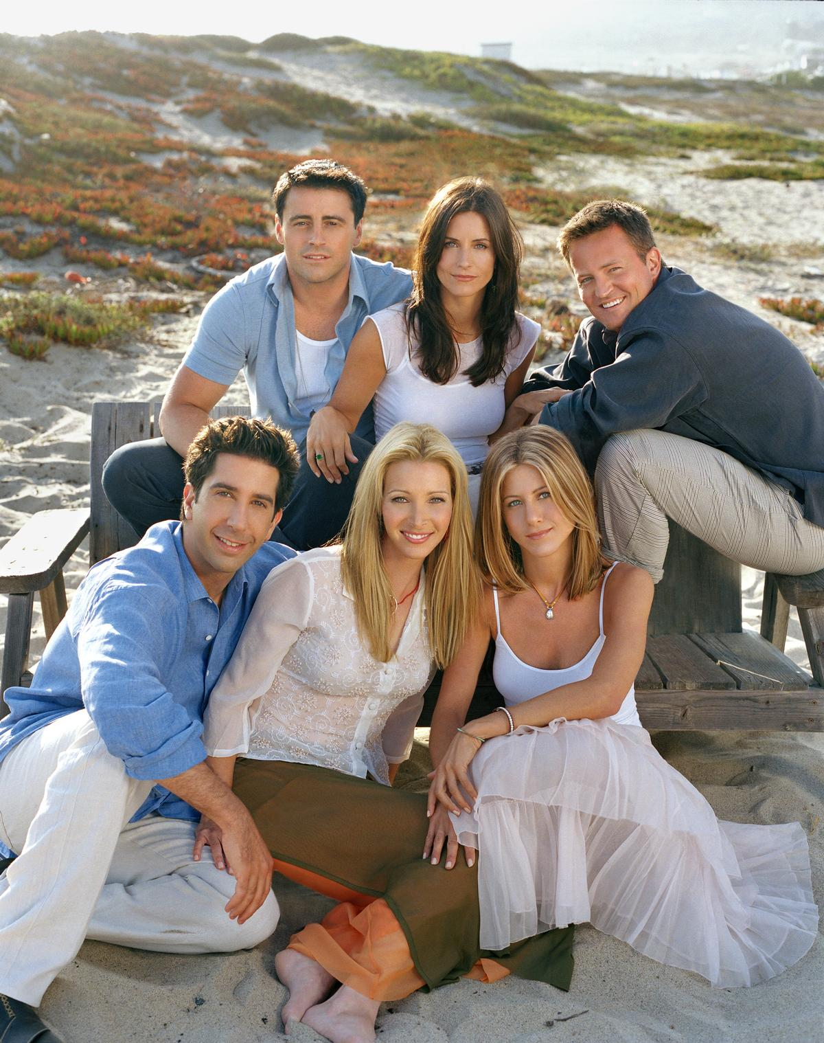 <i>Friends</i> went on to enjoy a hugely successful 10-season run, and remains a go-to show for syndication and streaming services / JRA