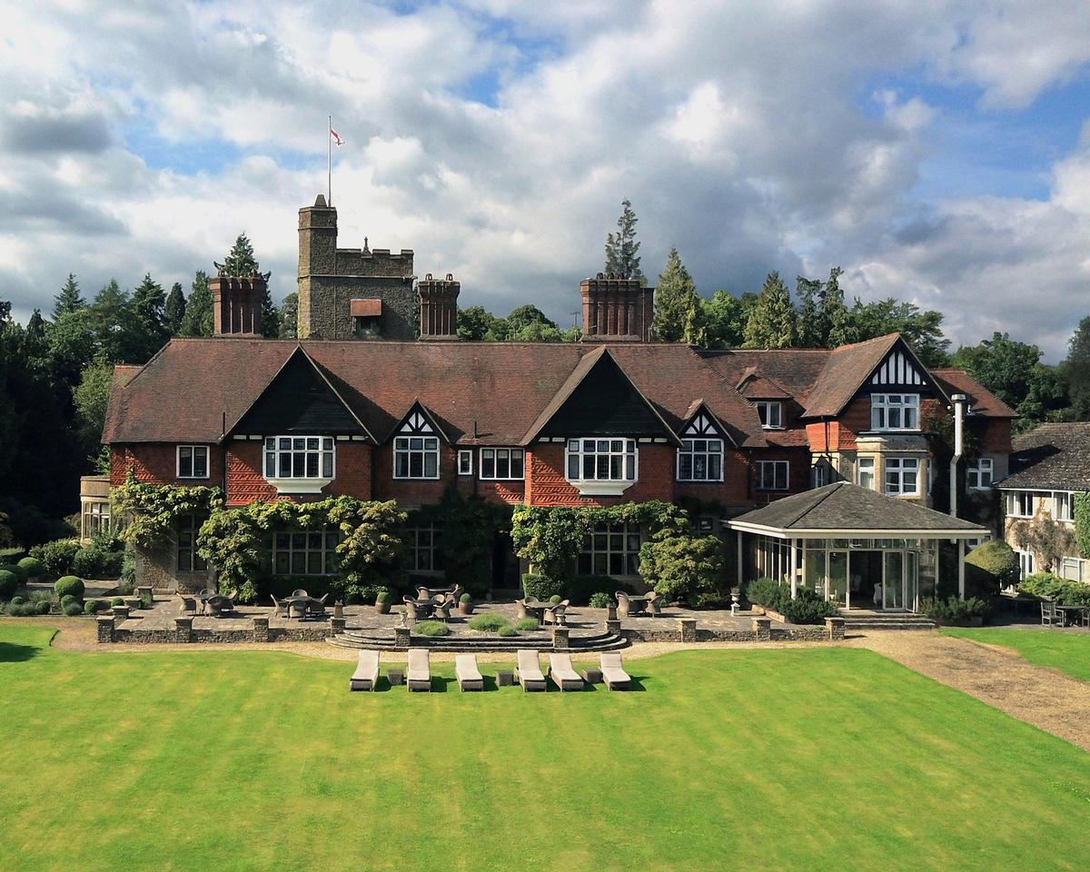 Grayshott Medical Spa is the former home of Victorian poet laureate Alfred, Lord Tennyson