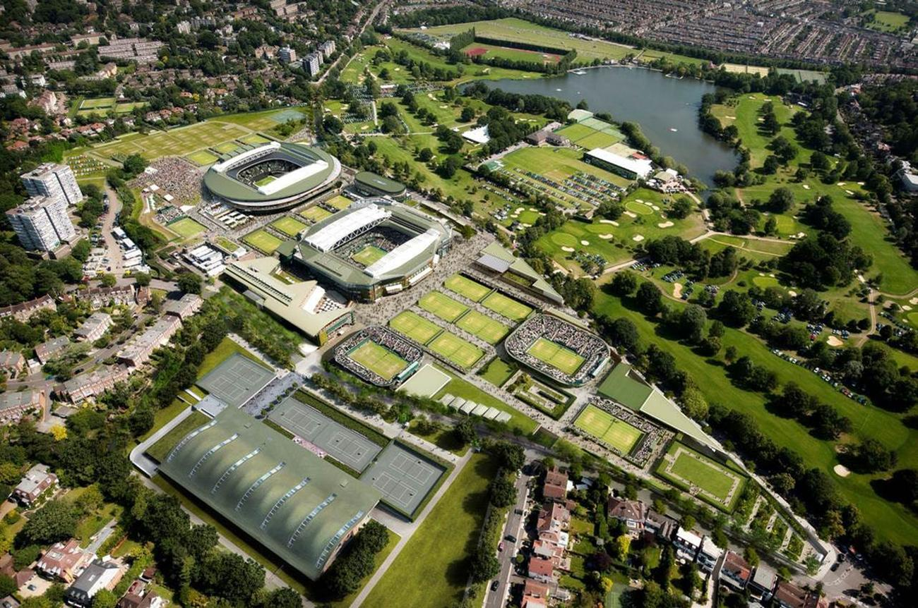 The £70m facility will be located on Somerset Road, adjacent to The Championship complex