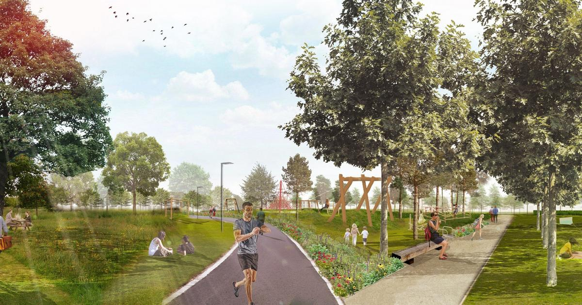 The Auldcathie Park will cost an estimated £6m and will feature woodland walks and outdoor fitness areas