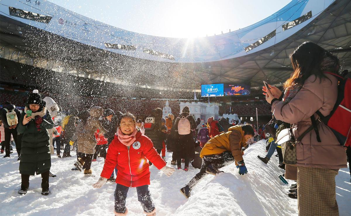 China is now looking to dovetail the success of the 2008 legacy programmes with the upcoming 2022 Winter Games
