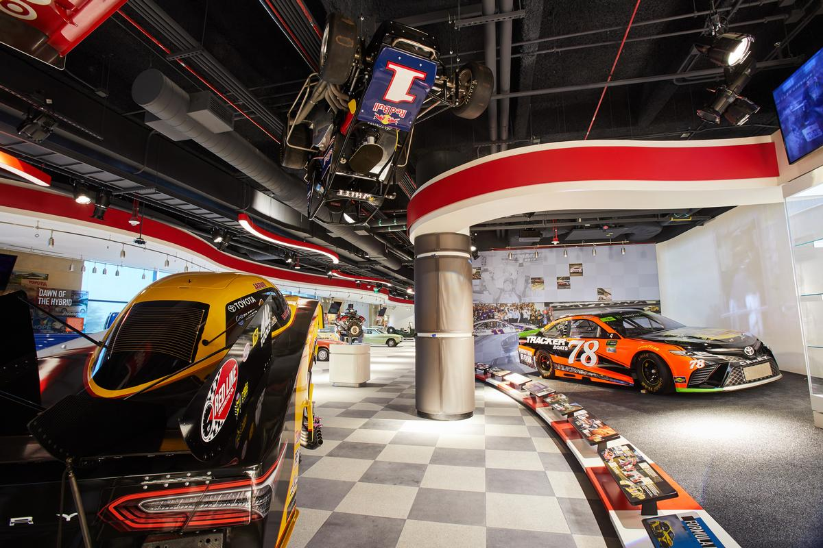 High performance vehicles are in the Racing Gallery / JRA
