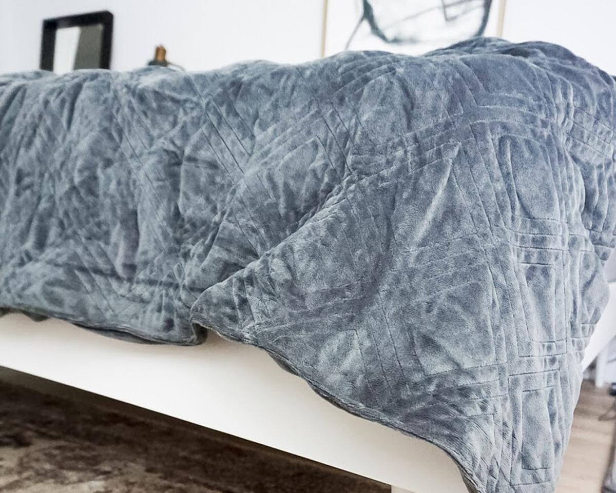 Hush weighted blankets are designed to replicate the sensation of being held
