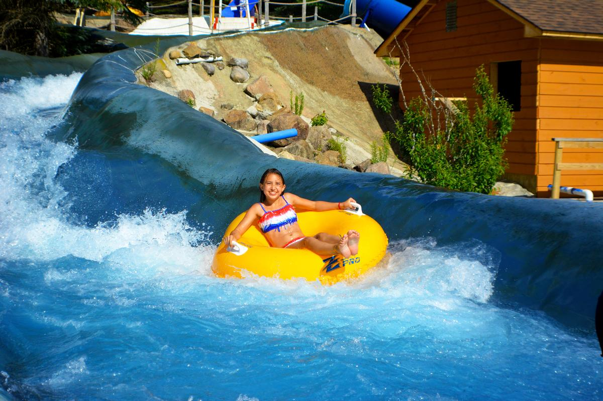More than 50 rides and attractions include 32 water rides