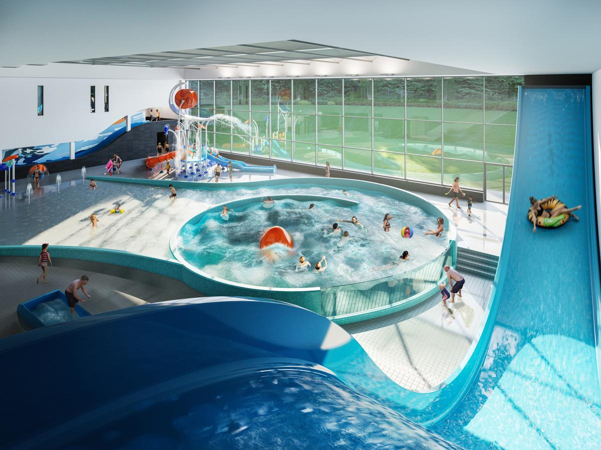 Designs submitted for Derby\'s £42m swimming pool and waterpark