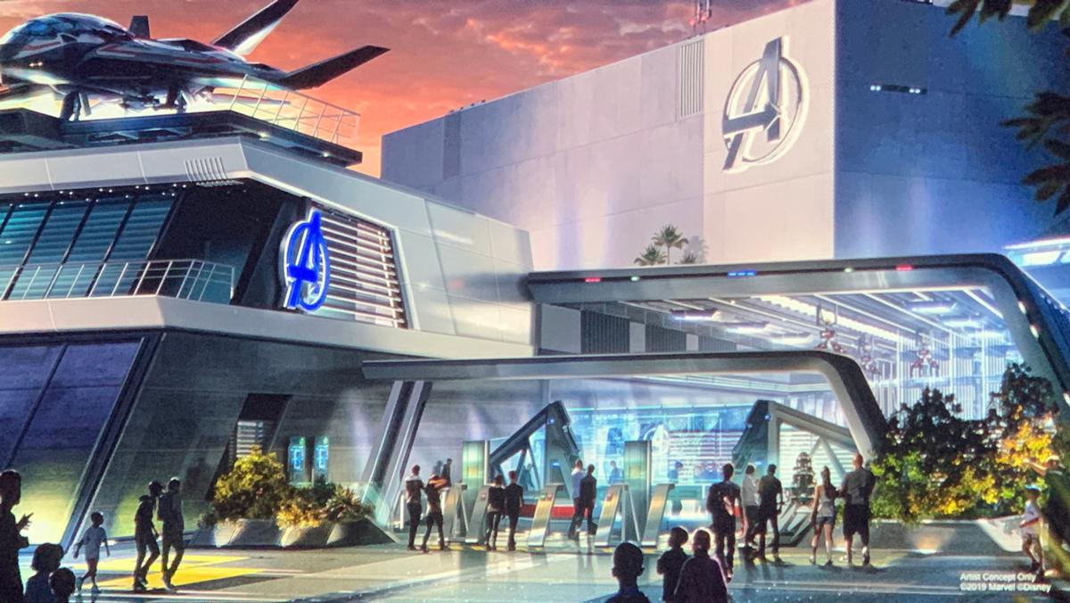 The Avengers Headquarters is a key address on the new campus