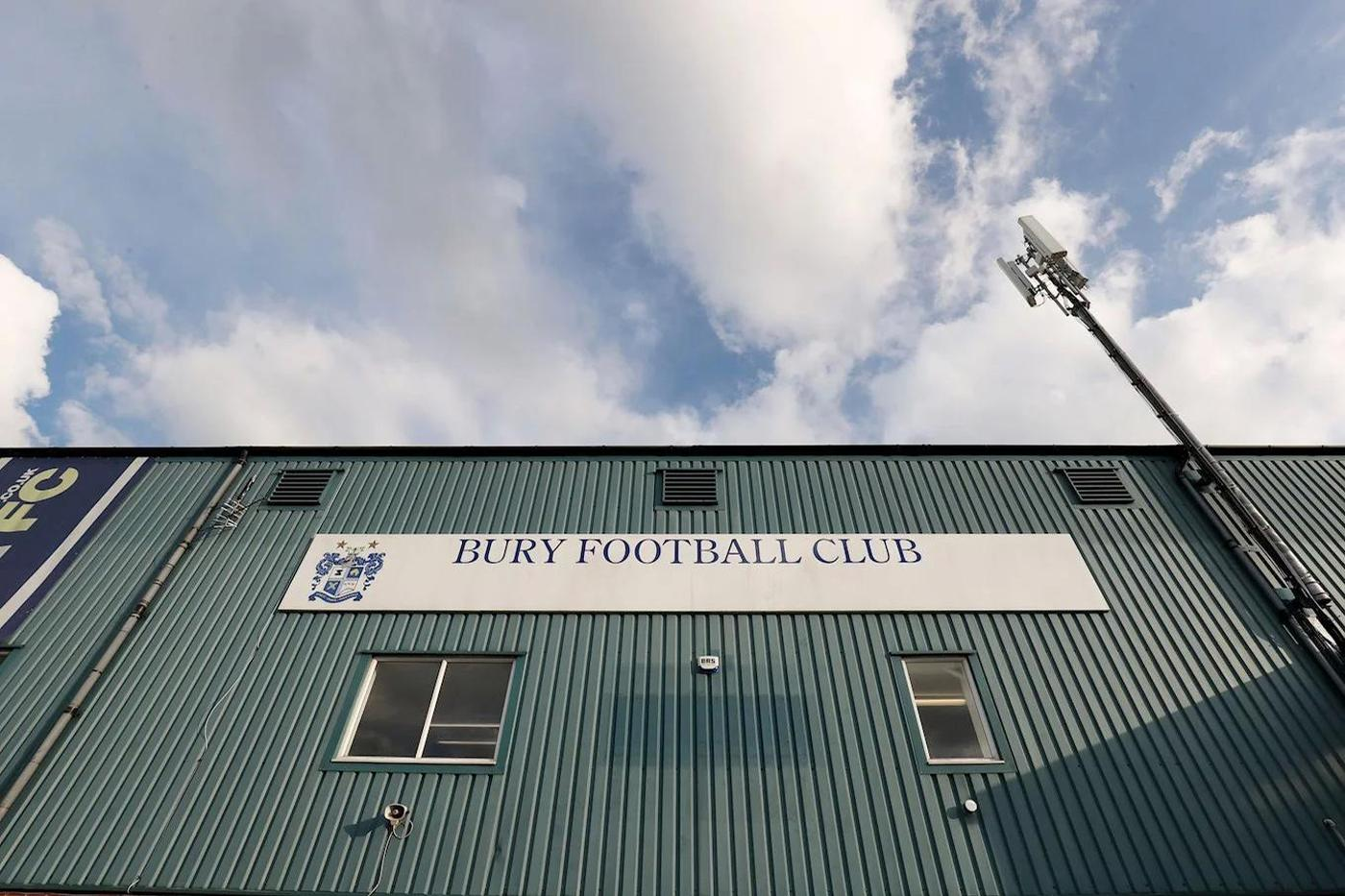 Bury is one of England's oldest football clubs and had been a member of the football league for 125 years