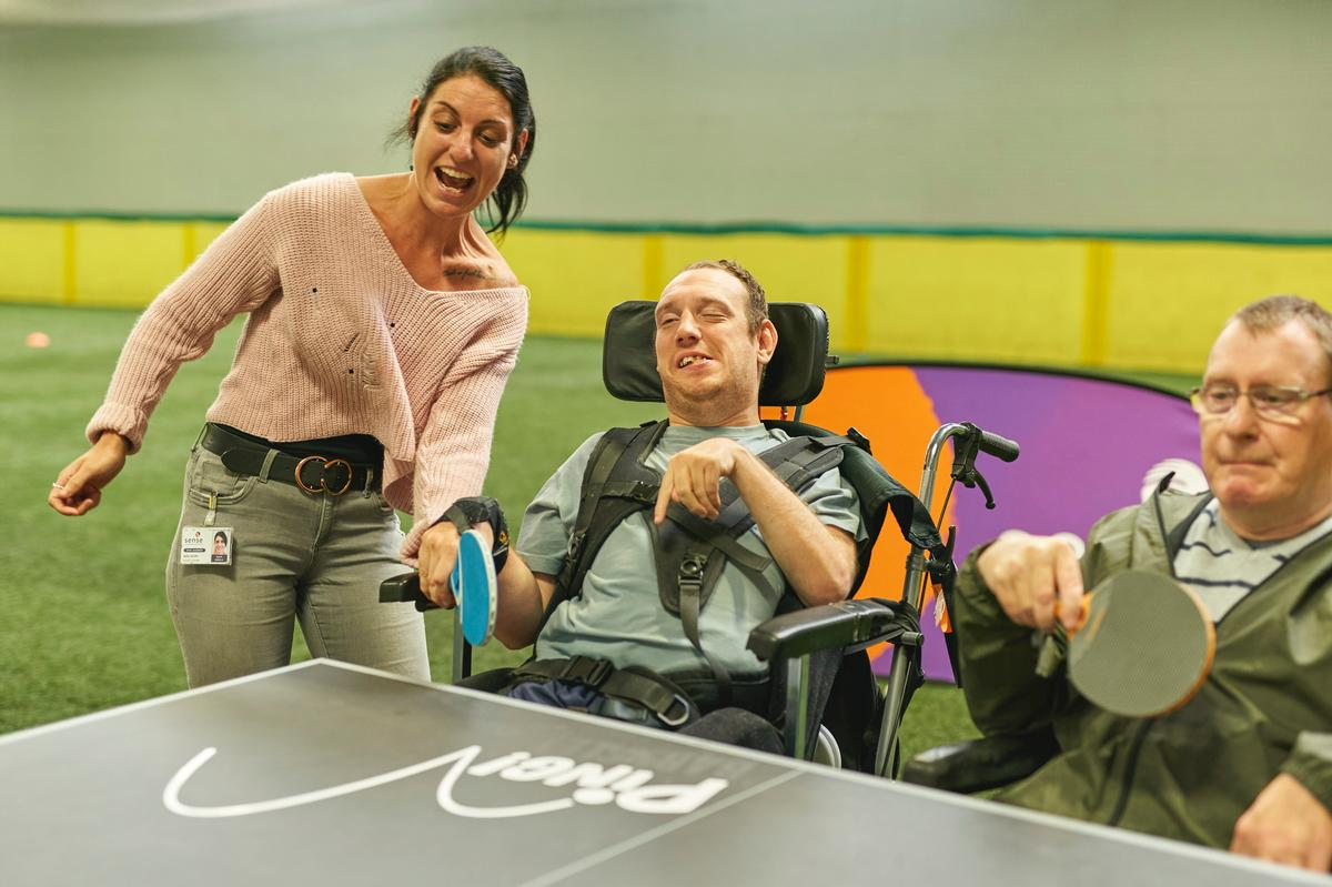 The funding forms part of Sport England's strategy of tackling inactivity levels among people with multiple impairments