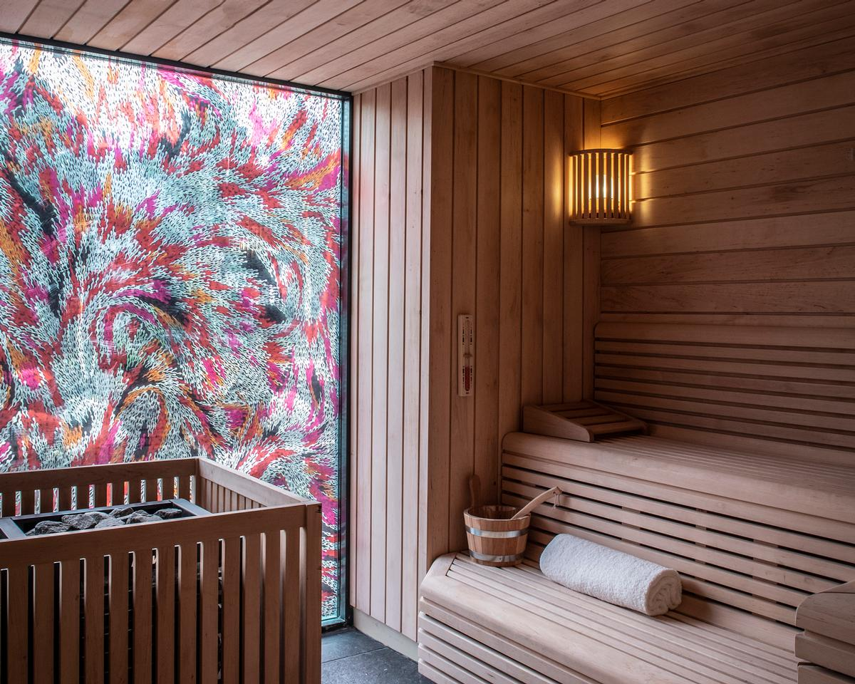Spa Vision designed, supplied and installed the sauna at the Albamhor Spa / ©Sim Canetty-Clarke