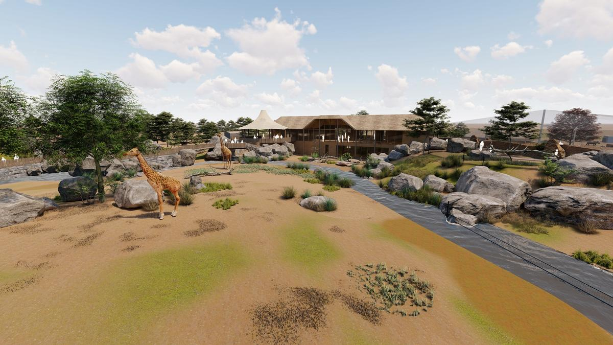 The extension is part of the zoo's 217-acre expansion masterplan