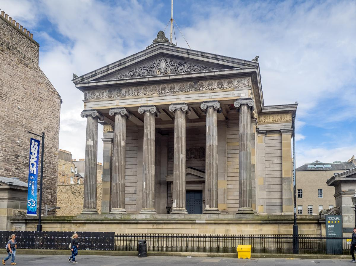 The Surgeons' Hall Museums first opened in 1832