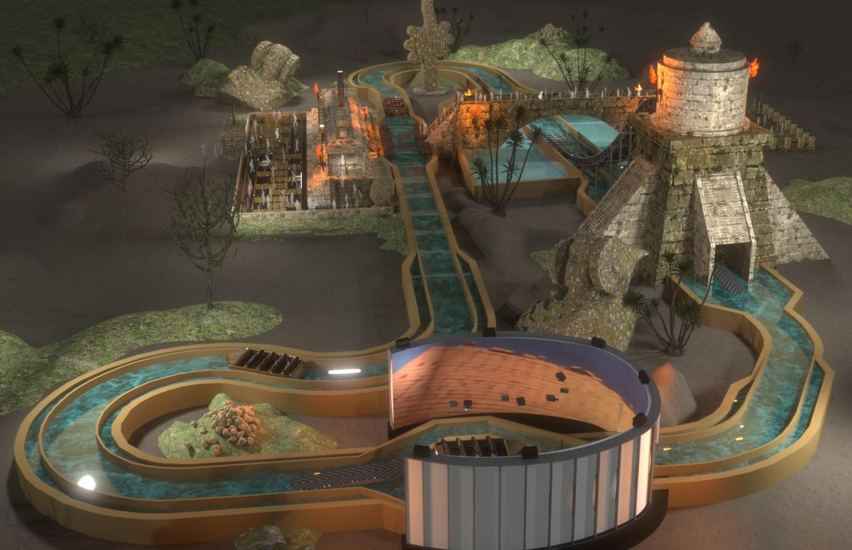 The company will be showcasing a number of its recent projects including the world's first Immersive Superflume
