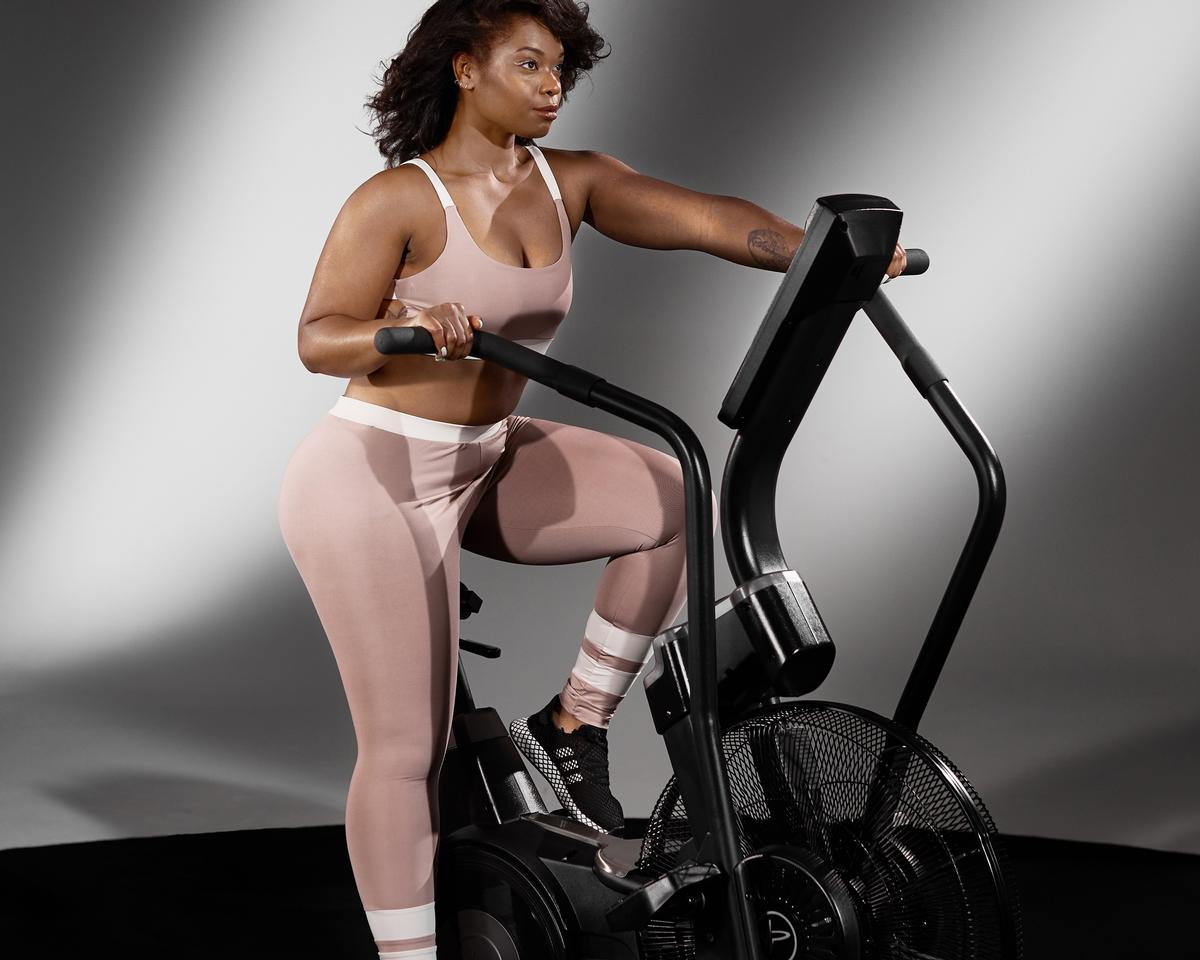 The AirBike uses air resistance technology to offer a full-body cardiovascular workout