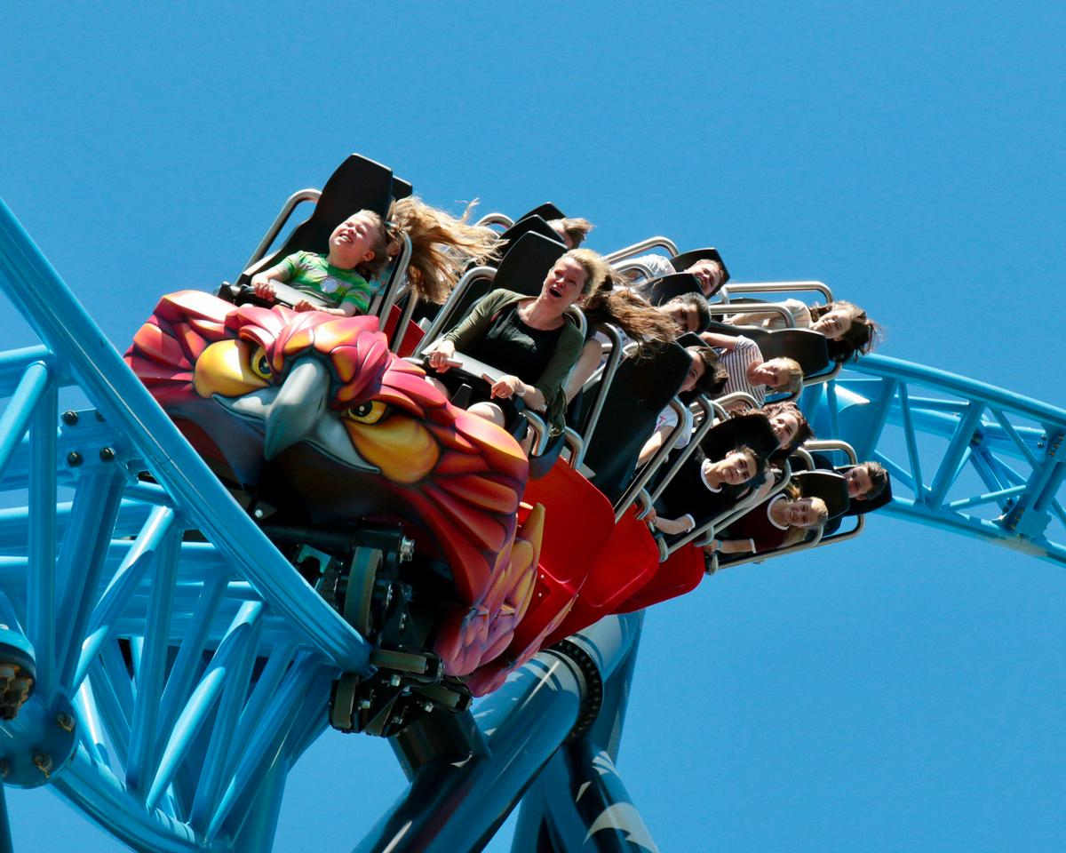 Intamin's LSM Double Launch Coaster Taiga opened at Linnanmäki in Finland earlier this year