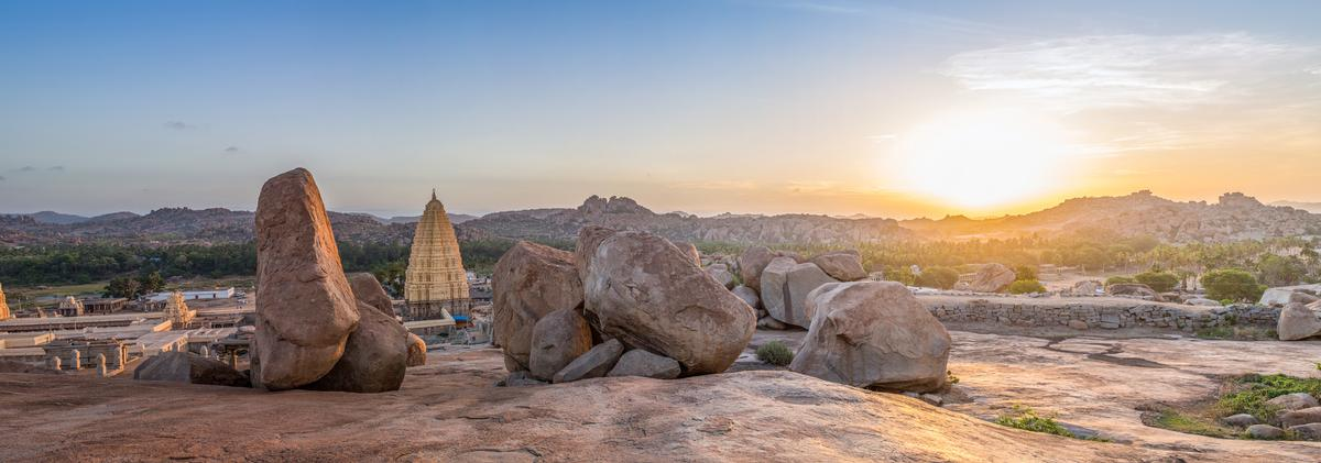 The Unesco World Heritage Site of Hampi, south India, is dotted with ruined temples / Shutterstock