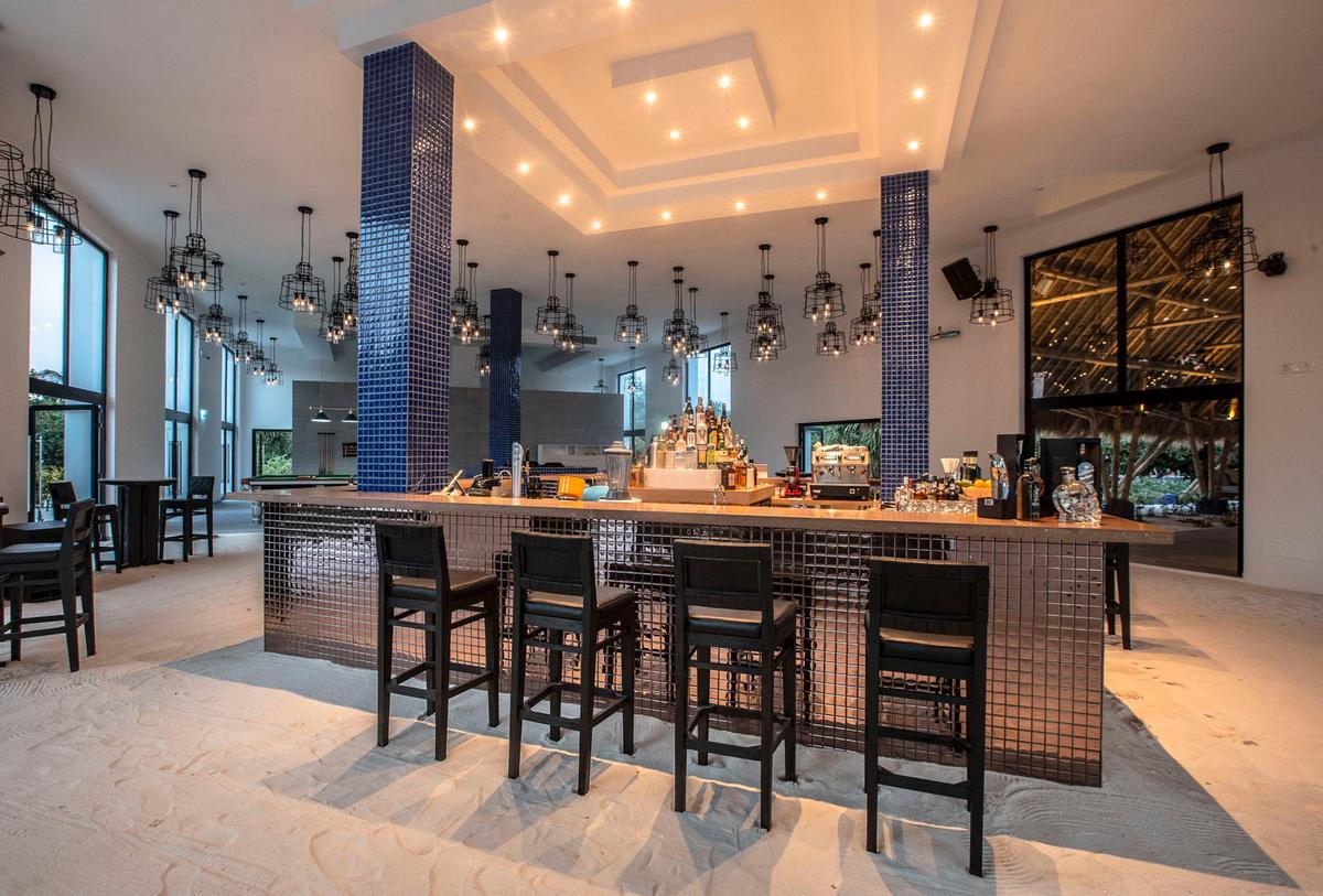 The Sunset bar.