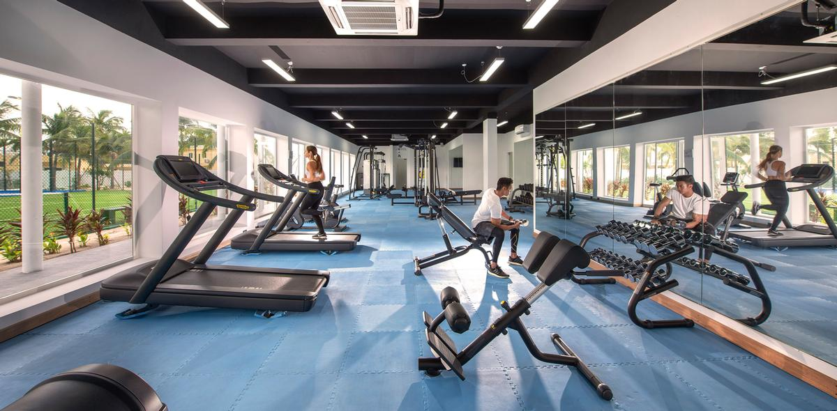 Guests have access to a brand new gym fully equipped by Technogym.