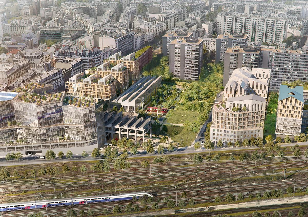 Ecosystem neighbourhood to be built on old Paris rail site