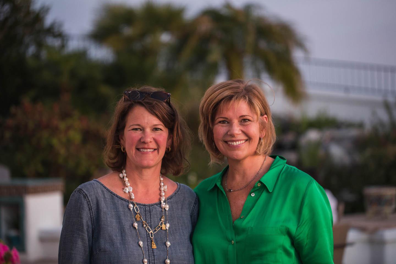 Joanna Roche, GSN's executive director (left) and Bonnie Baker, GSN president