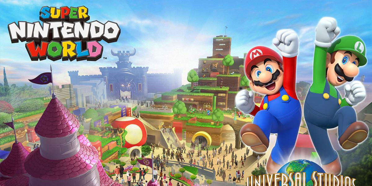 Super Nintendo World is scheduled to open before the start of the Tokyo Olympics next year / Universal Studios Japan
