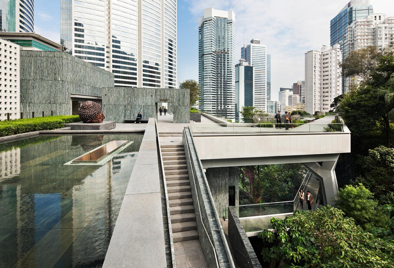The Asia Society Hong Kong Center Admiralty, Hong Kong / Michael Moran