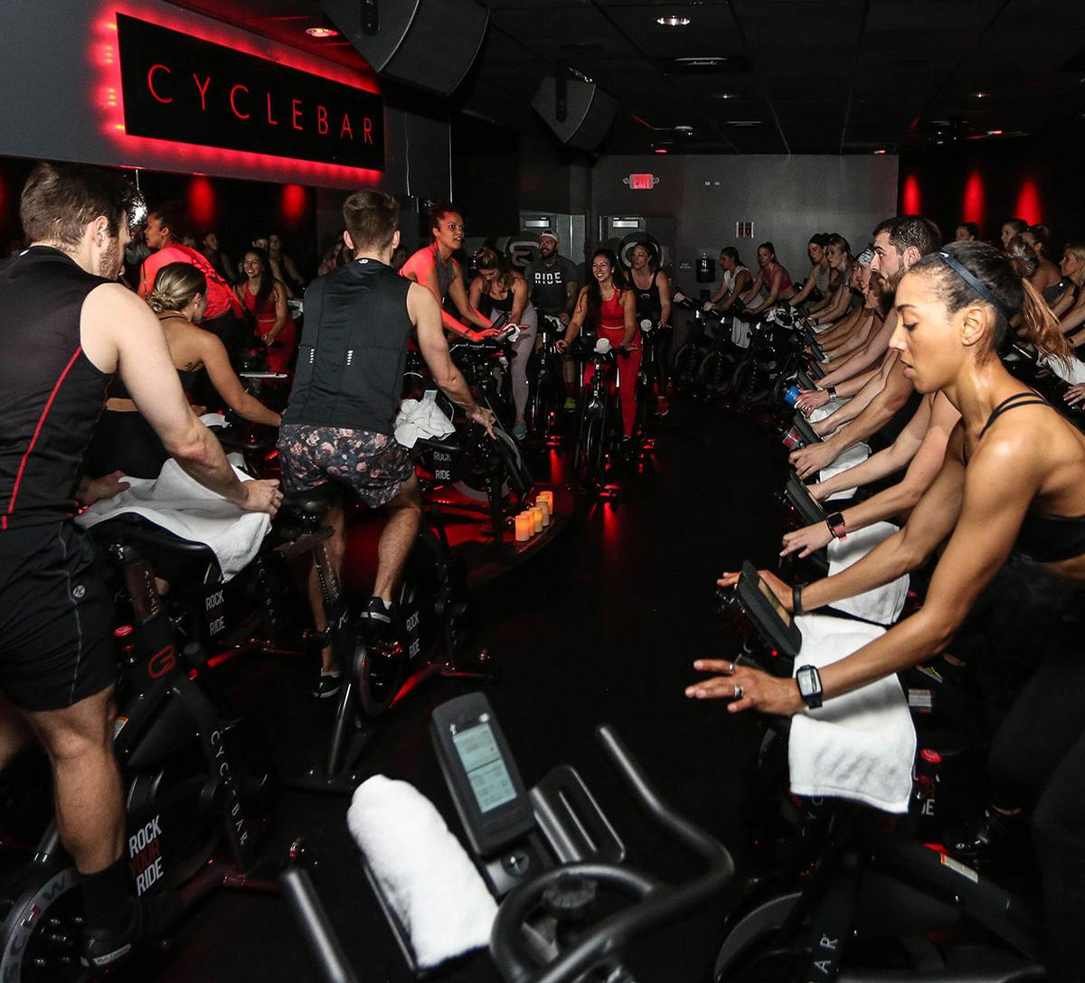 Xponential's portfolio of boutique brands includes indoor cycling specialist Cyclebar