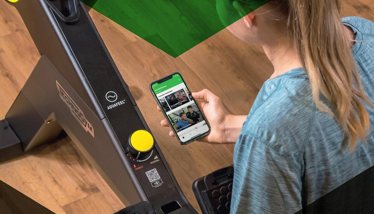 The app allows users to track their indoor and outdoor activities and will also connect with Technogym equipment