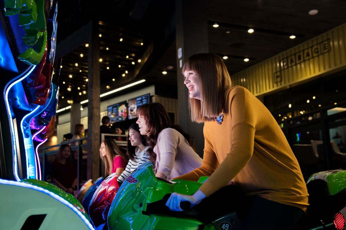 The Rec Room is a 'social playground where guests can eat, drink and play', according to Cineplex / Cineplex