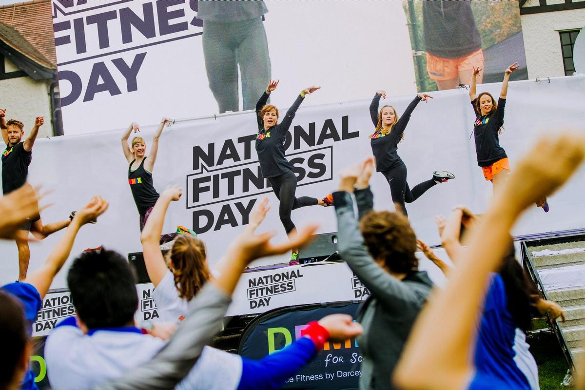 The study was published ahead of the National Fitness Day, which will be held on Wednesday 25 September